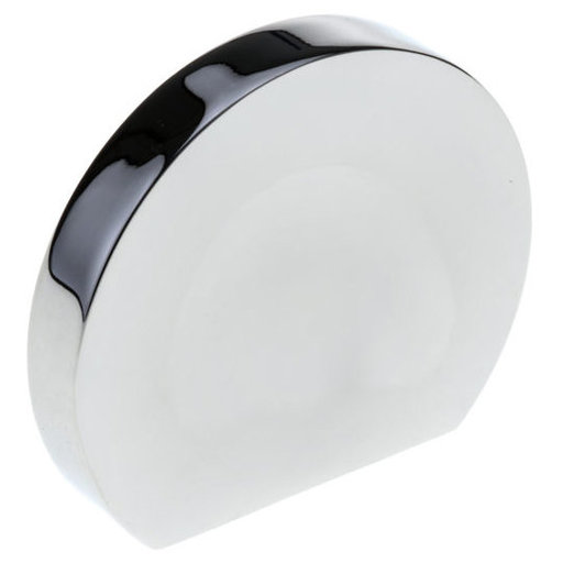 """View a Larger Image of Transitional Knob, 1-1/4"""" D, Chrome"""