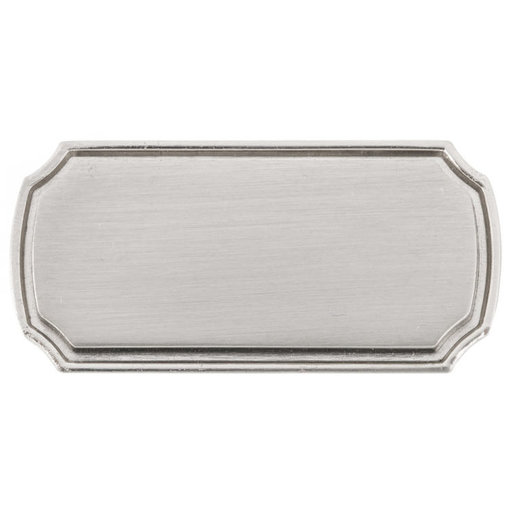 """View a Larger Image of Transitional Knob, 1-11/16"""" x 27/32"""", Brushed Nickel"""