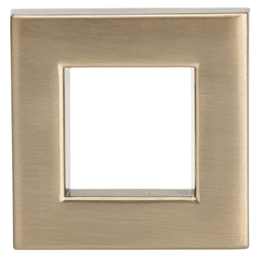 """View a Larger Image of Transitional Knob, 1-21/32"""" x 1-21/32"""", Champagne Bronze"""