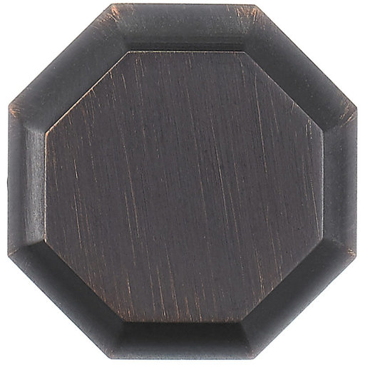 """View a Larger Image of Transitional Knob, 1-3/16"""" D, Brushed Oil-Rubbed Bronze"""