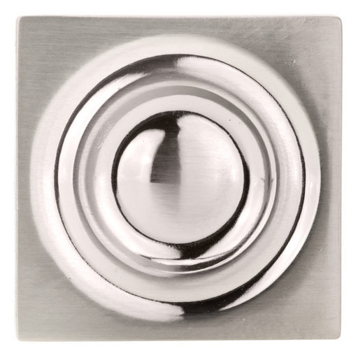 """View a Larger Image of Transitional Knob, 1-3/16"""" x 1-3/16"""", Brushed Nickel"""