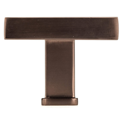 """View a Larger Image of Transitional Knob, 1-3/8"""" x 1-3/8"""", Honey Bronze"""