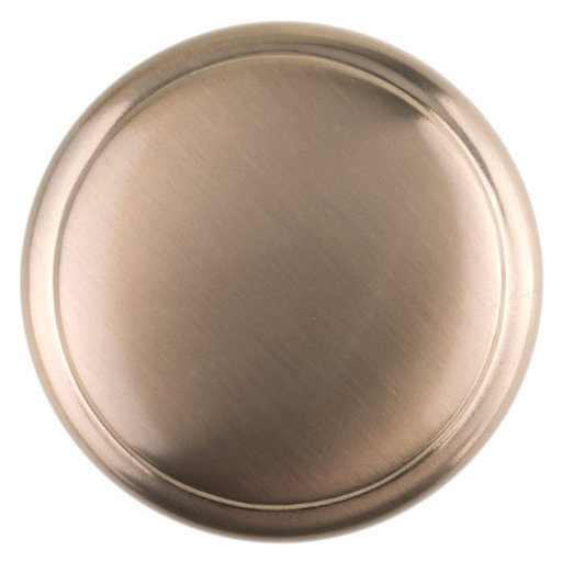 """View a Larger Image of Transitional Knob, 1-9/16"""" D, Champagne Bronze"""