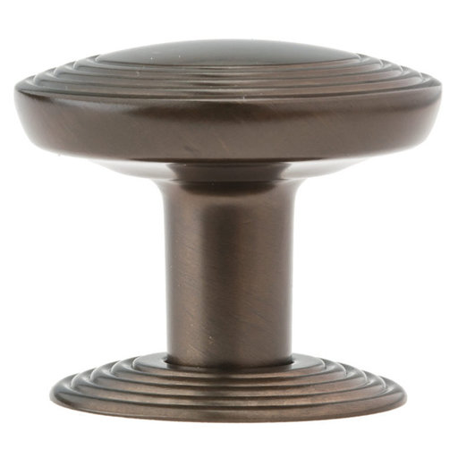 """View a Larger Image of Transitional Knob, 1-9/16"""" D, Honey Bronze"""