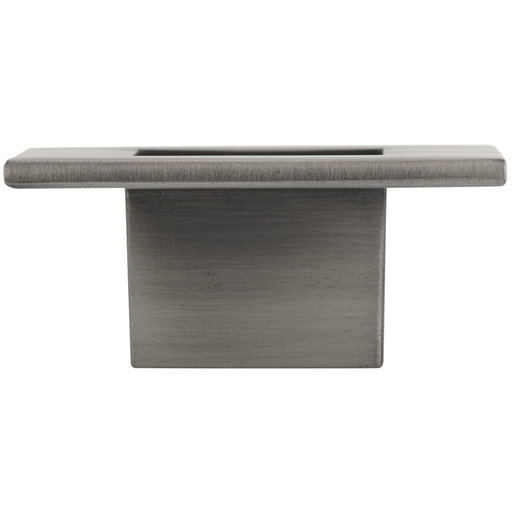 """View a Larger Image of Transitional Knob, 2-3/8"""" x 2-3/8"""", Brushed Pewter"""