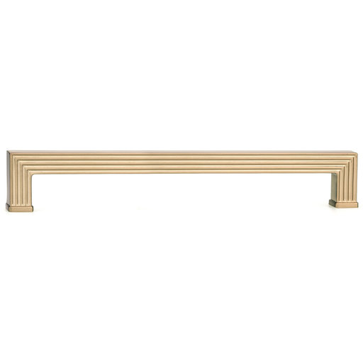 """View a Larger Image of Transitional Pull, 12-5/8"""" Center-to-Center, Champagne Bronze"""