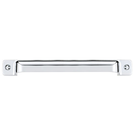 """View a Larger Image of Transitional Pull, 12-5/8"""" Center-to-Center, Chrome"""