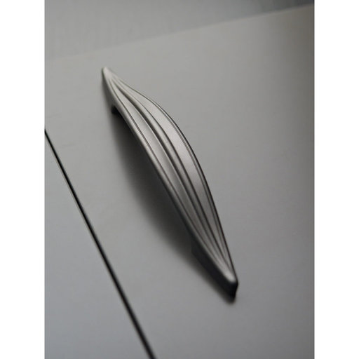 """View a Larger Image of Transitional Pull, 12-5/8"""" Center-to-Center, Graphite"""