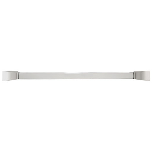 """View a Larger Image of Transitional Pull, 12"""" Center-to-Center, Polished Nickel"""