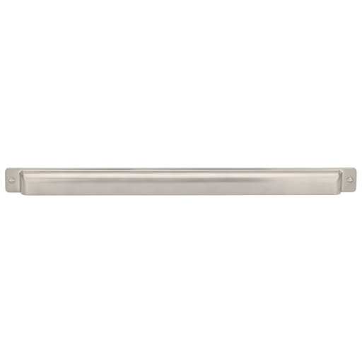 """View a Larger Image of Transitional Pull, 18-7/8"""" Center-to-Center, Brushed Nickel"""