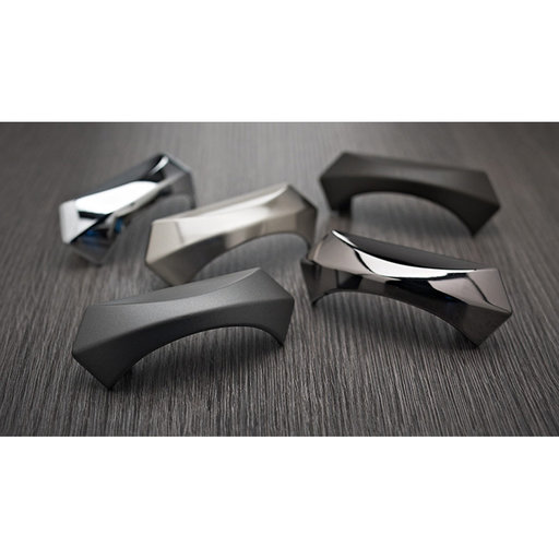 """View a Larger Image of Transitional Pull, 3-3/4"""" Center-to-Center, Black Nickel"""