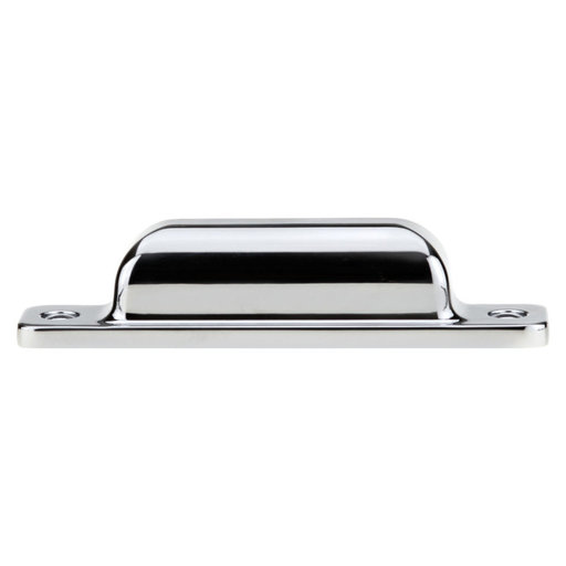 """View a Larger Image of Transitional Pull, 3-3/4"""" Center-to-Center, Chrome"""