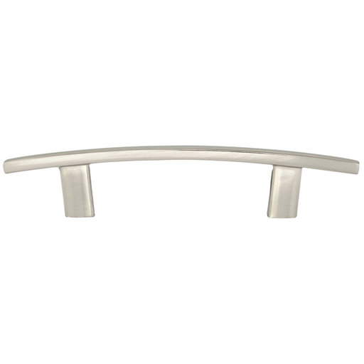 """View a Larger Image of Transitional Pull, 3"""" Center-to-Center, Brushed Nickel"""