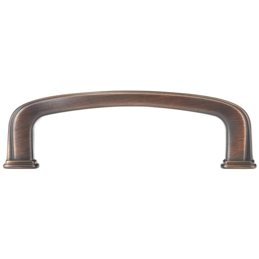 """View a Larger Image of Transitional Pull, 3"""" Center-to-Center, Brushed Oil-Rubbed Bronze"""