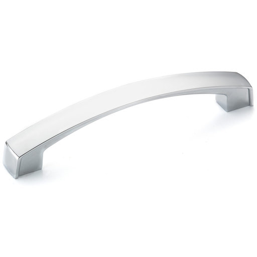"""View a Larger Image of Transitional Pull, 5-1/16"""" Center-to-Center, Chrome"""