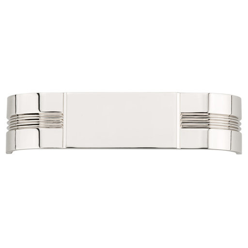 """View a Larger Image of Transitional Pull, 5-1/16"""" Center-to-Center, Polished Nickel"""