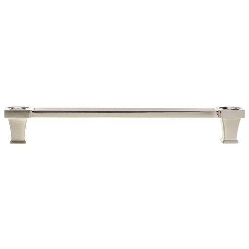 """View a Larger Image of Transitional Pull, 7-9/16"""" Center-to-Center, Brushed Nickel"""