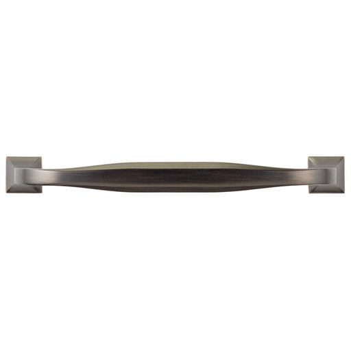 """View a Larger Image of Transitional Pull, 8"""" Center-to-Center, Brushed Oil-Rubbed Bronze"""