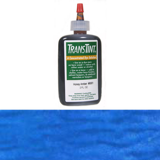 View a Larger Image of Blue Transtint Alcohol/Water Soluble Dye 2 oz