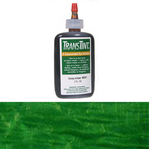 View a Larger Image of Bright Green Transtint Alcohol/Water Soluble Dye 2 oz