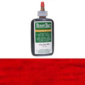 Bright Red Transtint Alcohol/Water Soluble Dye 2 oz