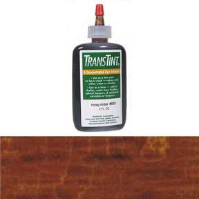 Brown Mahogany Transtint Alcohol/Water Soluble Dye 2 oz