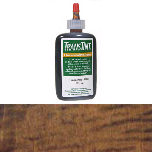 View a Larger Image of Dark Mission Brown Transtint Alcohol/Water Soluble Dye 2 oz