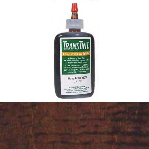 View a Larger Image of Dark Walnut Transtint Alcohol/Water Soluble Dye 2 oz