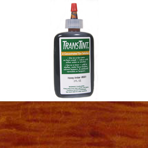 View a Larger Image of Medium Brown Transtint Alcohol/Water Soluble Dye 2 oz