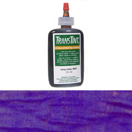 View a Larger Image of Purple Transtint Alcohol/Water Soluble Dye 2 oz