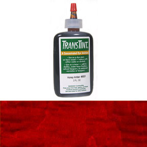 Red Mahogany Transtint Alcohol/Water Soluble Dye 2 oz