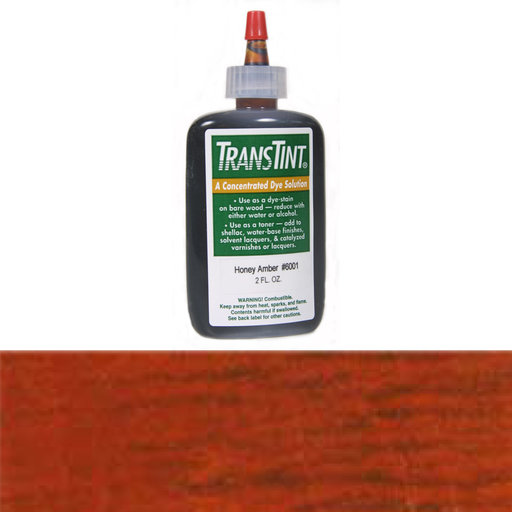 View a Larger Image of Reddish Brown Transtint Alcohol/Water Soluble Dye 2 oz