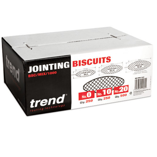 View a Larger Image of Biscuits - Mixed - 0, 10, 20 - 1000 Pieces