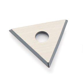 Triangular Carbide Replacement Blade for #449 Scraper - Sandvik