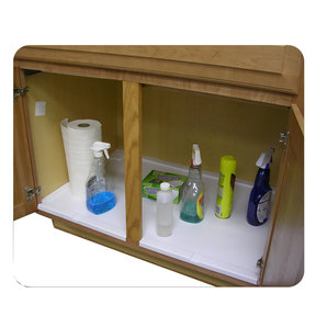Trimmable Under Sink Tray for 30 in. Base Cabinet