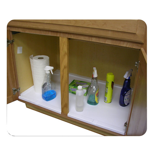 View a Larger Image of Trimmable Under Sink Tray for 36 in. Base Cabinet