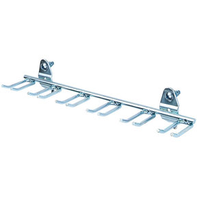 """8 1/8"""" DuraHook Multi-Prong Tool/Wrench Holder for Pegboard, 5 Pack"""