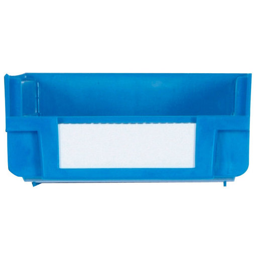 View a Larger Image of Blue Hanging, Nesting Bins with White Identification Lables, 30 Cnt