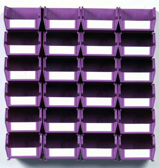 View a Larger Image of Orchid 26 PC Wall Storage Unit - Small