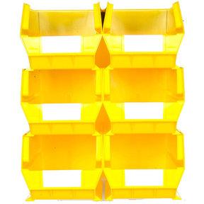Yellow 8 PC Wall Storage Unit - Extra Large