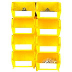 Yellow Hanging Bin and BinClips Kits, 30 Cnt