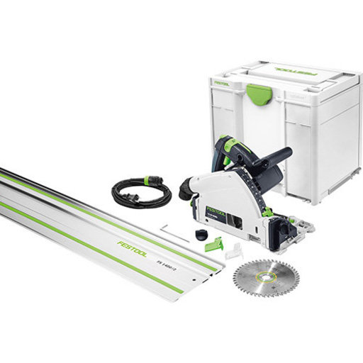 View a Larger Image of TS 55 REQ-F-Plus FS Circular Saw in systainer³ with Rail