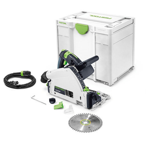 View a Larger Image of TS 55 REQ-F-Plus Plunge Cut Circular Saw in systainer³ - NO RAIL