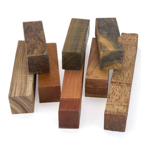 """View a Larger Image of 2"""" Square Wood Stock Turner's Grab Bag Assortment #2"""