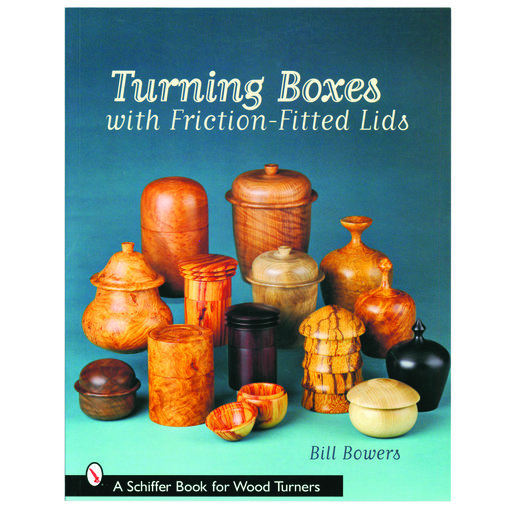 View a Larger Image of Turning Boxes with Friction Fitted Lids