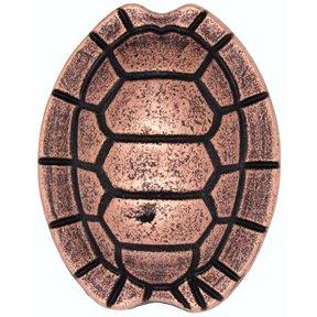 Turtle Shell Knob, Copper Oxide