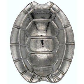 Turtle Shell Knob, Nickel