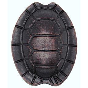 Turtle Shell Knob, Oil Rubbed Bronze
