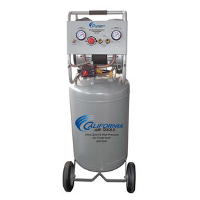 1-1/2HP 20 Gallon Oil-Free Two Stage Air Compressor