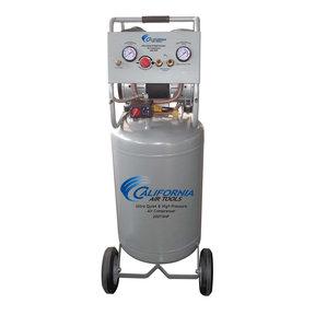 1-1/2HP 20 Gallon Oil-Free Two Stage Air Compressor with Auto Drain Valve